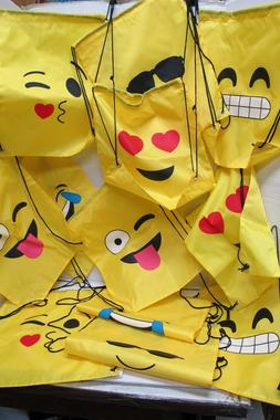 12~New Emoji~Emoticon~Sling Bag-Backpack~Party Supplies~Spor