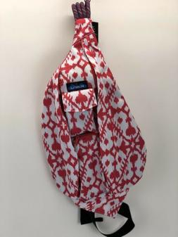 KAVU Rope Sling New With Tags In Pink Blot Pattern