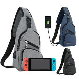 Backpack Travel Bag for Nintendo Switch Protective Crossbody