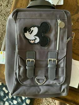 BNWT Disney Sling Bag Backpack Mickey Mouse Detachable Pin T