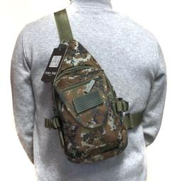 Camouflage Tactical Military Sling Crossbody Side Chest Bag