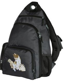 Cat Backpack SLING BACKPACK LOADED w/ FEATURES!