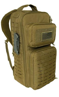 Coyote Tactical Single Sling Pack Backpack Laser Cut Molle P