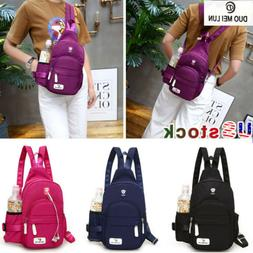 DUOMEILUN Nylon Crossbody Shoulder Chest Cycle Sling Bag Dai