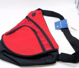 Port Authority Honeycomb Sling Pack Canvas  Zipper Pack Mess