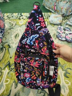 Vera Bradley Iconic Sling Backpack in Foxwood exact pattern