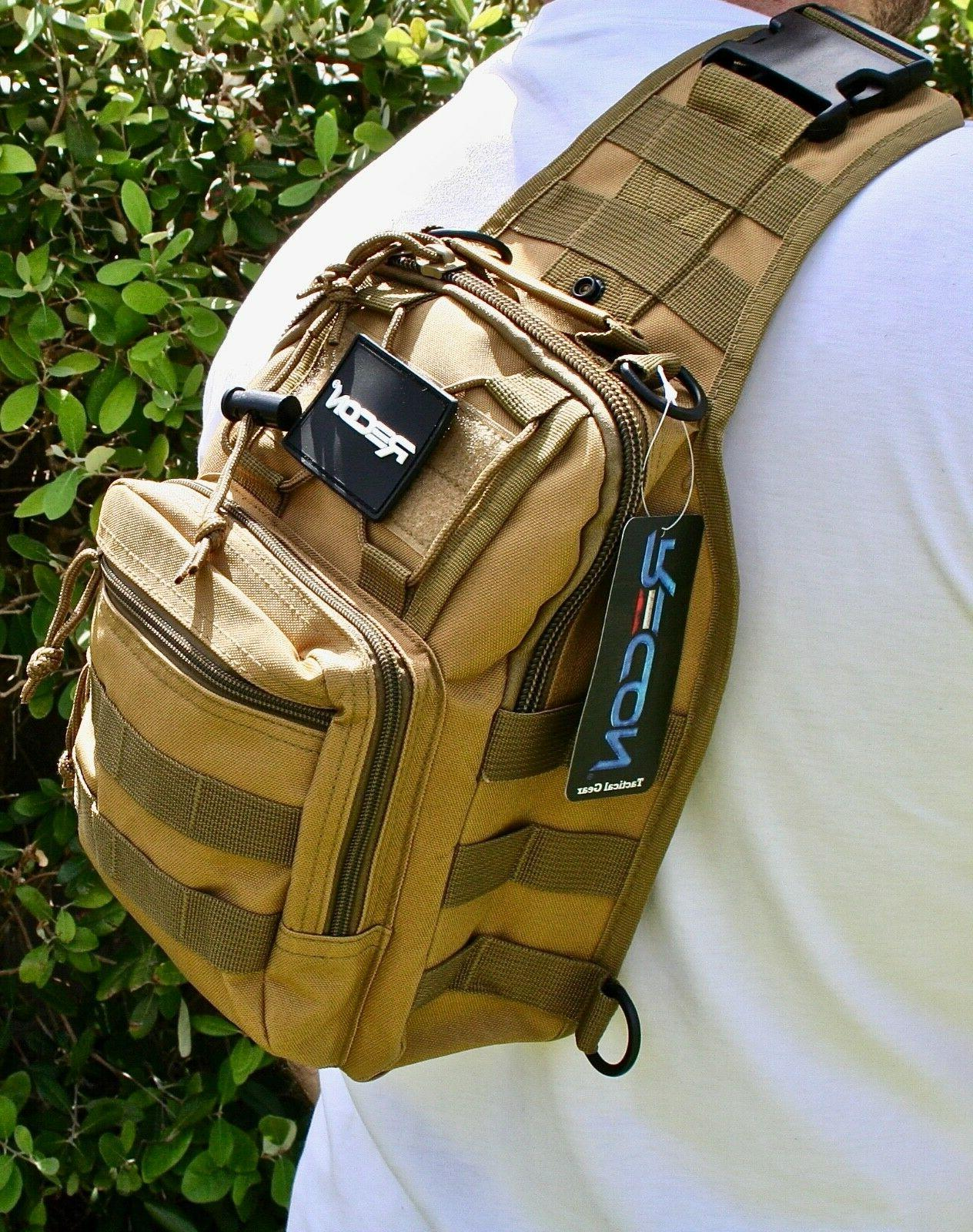 RECON TACTICAL MILITARY SLING BACKPACKS