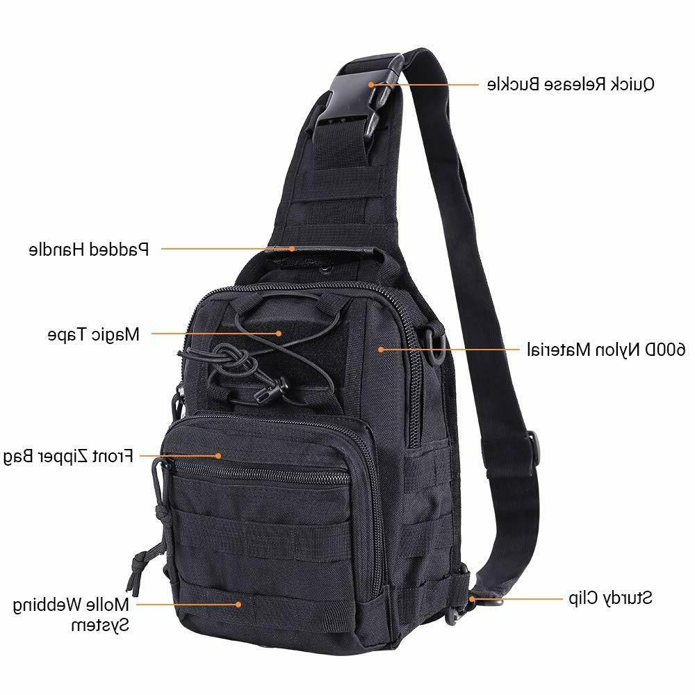 Tactical Sling Bag Pack Small Assault Military
