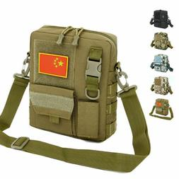 Men's Tactical Military Sling Chest Bag Molle Backpack Cross