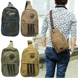 Mens Womens Small Sling Chest Bag Travel Backpack Hiking Bic