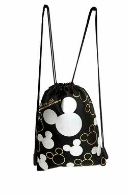 MICKEY MOUSE BACKPACK DRAWSTRING SLING TOTE BAG LICENSED NWT
