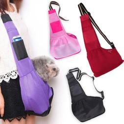Pet Dog Cat Puppy Carrier Single Shoulder Sling Bag Strap Tr