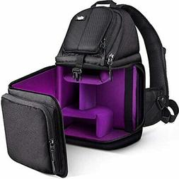 Qipi Camera Bag - Sling Style Case Backpack With Modular Ins