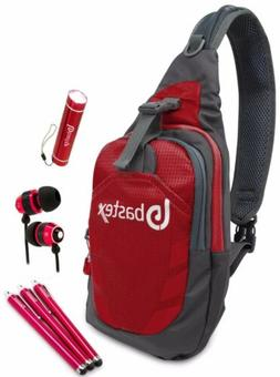 red on the go cell accessories sports
