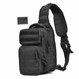 REEBOW GEAR Tactical Sling Bag Pack Military Rover Shoulder