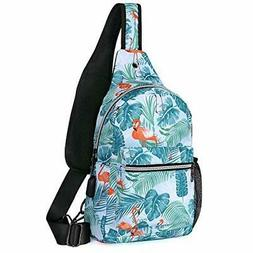MOSISO Sling Backpack Hiking Daypack Pattern Chest Outdoor S