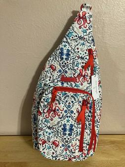 Vera Bradley Sling Backpack in Sea Life NWT Adorable!