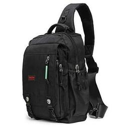 Sling Bags Chest Shoulder Backpacks, 13.3-Inch Laptop Backpa