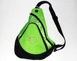 """Sling Pack Backpack GREEN with Embroidered """"RN"""" Registered N"""