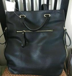 Studio Collection STRAW STUDIOS Black Convertible Backpack P