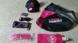 T-Mobile Tuesday Sling Backpack + Hat + Sunglasses + Water B