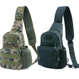 Tactical Sling Bag Pack Military Rover Assault Chest Backpac