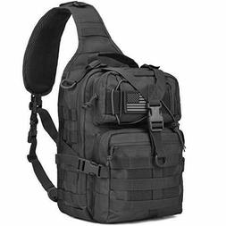Wycoff Gear Tactical Sling Bag Pack Military Rover Shoulder