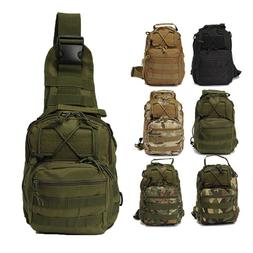 Tactical Sling Bag Pack Small EDC Molle Assault Military Arm