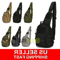 Tactical Sling Military Backpack Pack Rover Small Shoulder B