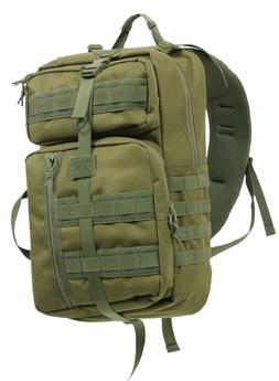 Tactical Sling Pack CCW Concealed Carry Backpack Olive Drab